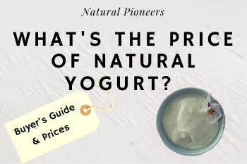 Thumbnail Natural Pioneers Whats the price of natural yogurt prices cost