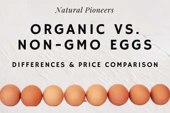Thumbnail Natural Pioneers Organic vs. Non-GMO eggs Difference Price Cost Comparison