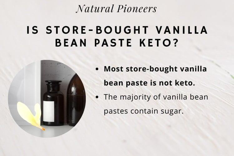 Natural Pioneers Is Store bought Vanilla Bean Pasta Keto Friendly
