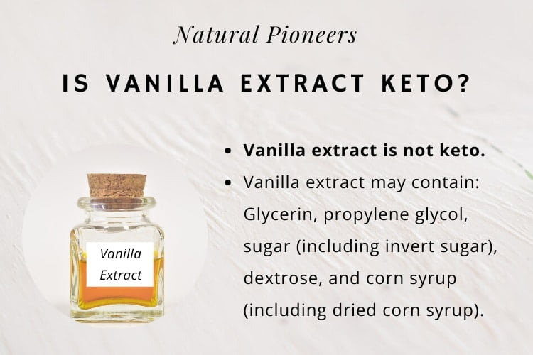 Natural Pioneers Is Vanilla Extract Keto Friendly