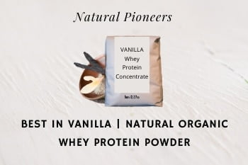 Thumbnail Natural Pioneers Best In Vanilla Natural Organic Whey Protein Powder
