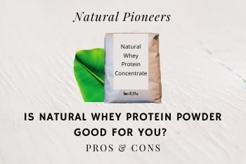 Thumbnail Natural Pioneers Is Natural Whey Protein Powder Good For You Pros & Cons