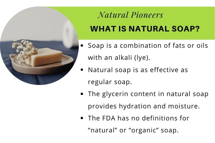 Natural Pioneers is natural hand soap antibacterial what is natural soap