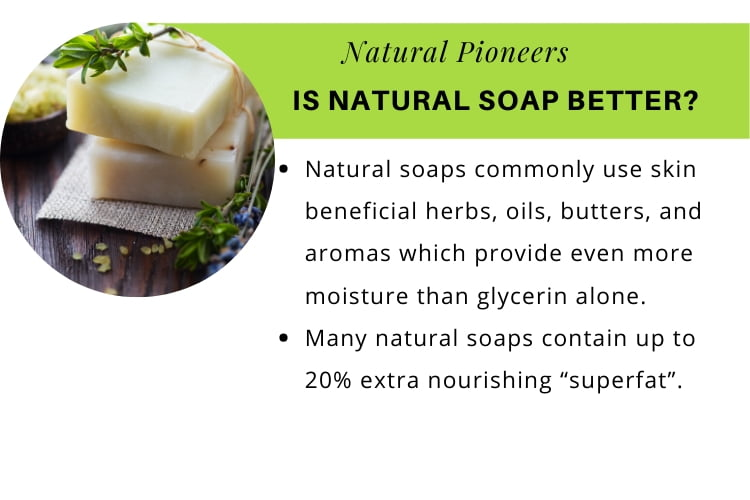 Natural Pioneers Is Natural Soap Better is natural soap better for our skin