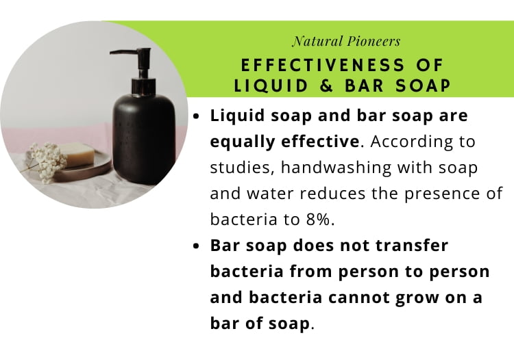 Natural Pioneers What Is The Difference Between Liquid And Bar Soap is liquid soap more effective than bar soap