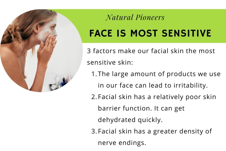 Natural Pioneers Is facial skin different from body skin facial skin is the most sensitive skin