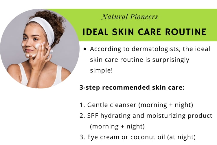 Natural Pioneers Is facial skin different from body skin ideal skin care routine according to dermatologists