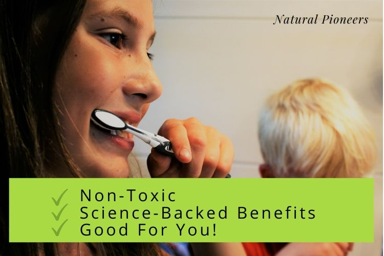 Natural Pioneers Is toothpaste edible recommended safe, non-toxic toothpastes