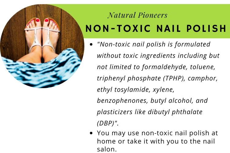 Natural Pioneers What Is Non-Toxic Nail Polish non-toxic nail polish definition