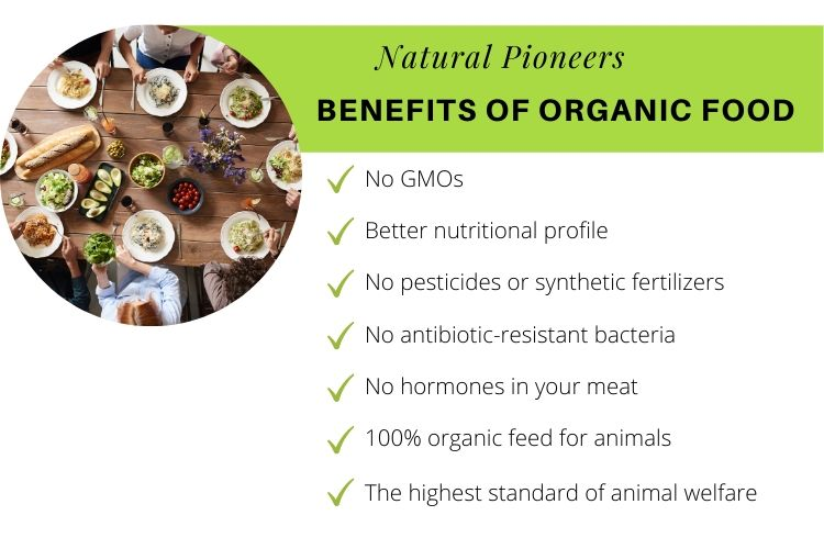 Natural Pioneers What is non-toxic living benefits of organic food for non-toxic living