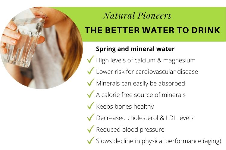 Natural Pioneers What is non-toxic living best water to drink spring and mineral water benefits studies