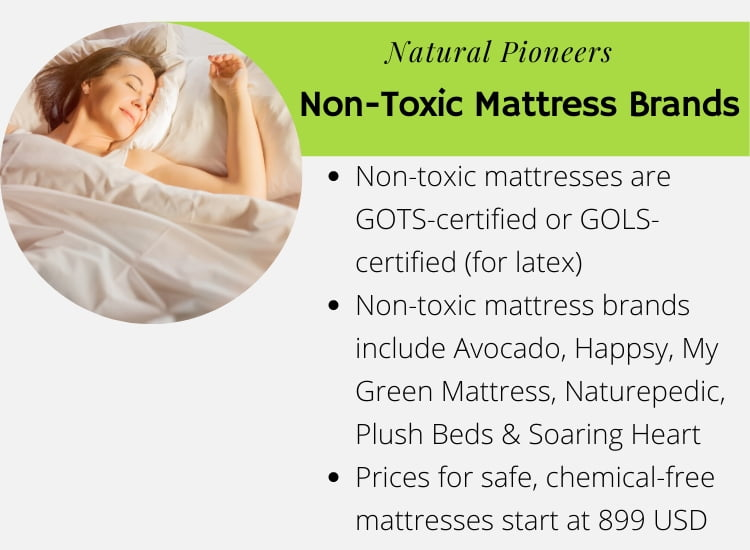 What Mattresses Are Non-Toxic Chemicals, Health Risk (2020) non-toxic mattress brands list